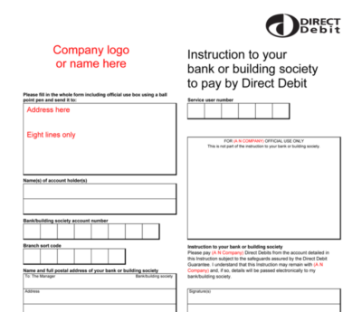 Our Guide to Setting up Direct Debit Instructions