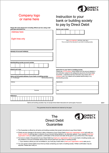 Box Image The Direct Debit Set-up